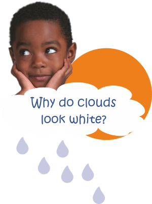 why_r_clouds_white